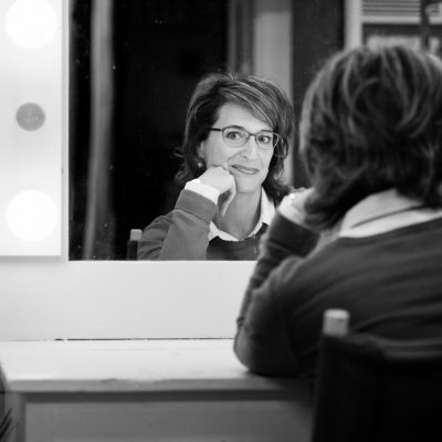 Jill Leberknight Backstage